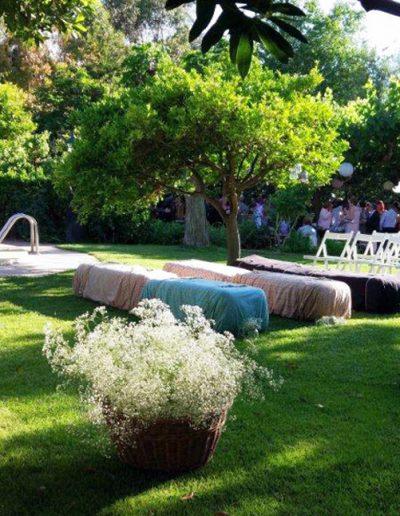 Boda Ceremonia en Jardin