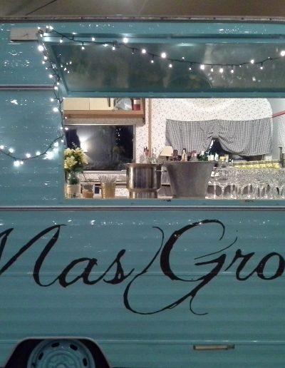 Masía para bodas íntima